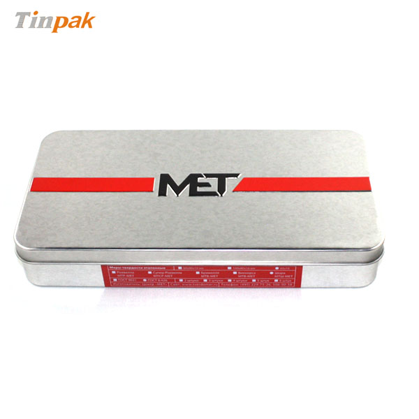 MET tin packaging box
