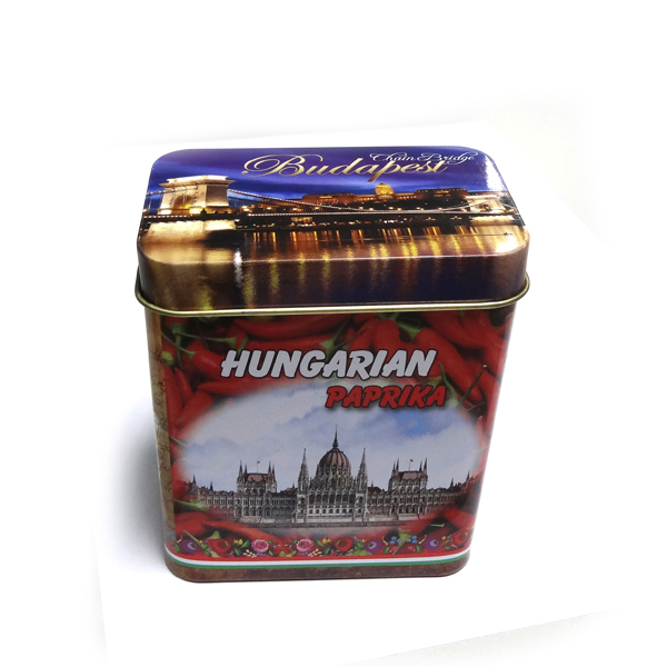 tin spice packaging box