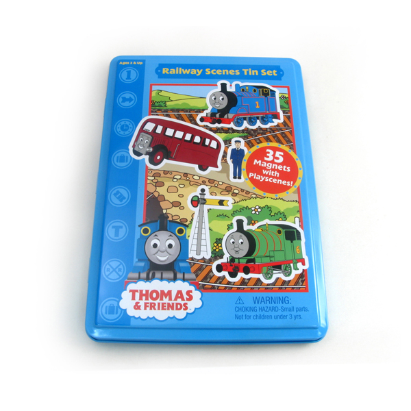 Thomas game DVD tin box