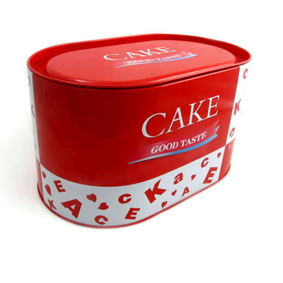 Favorable Oval Gift Tin Box