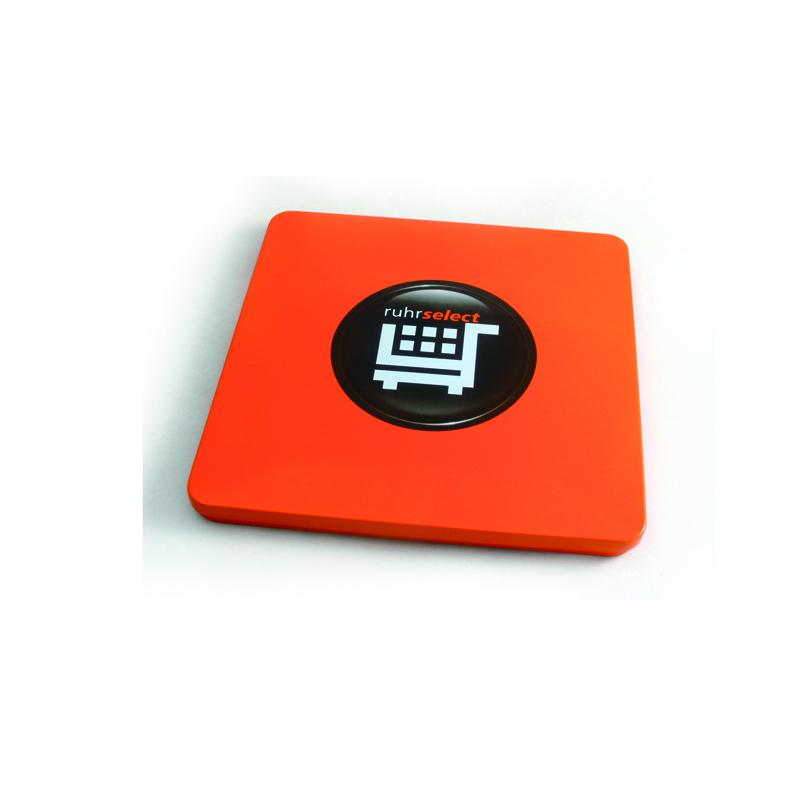 Square CD tin case