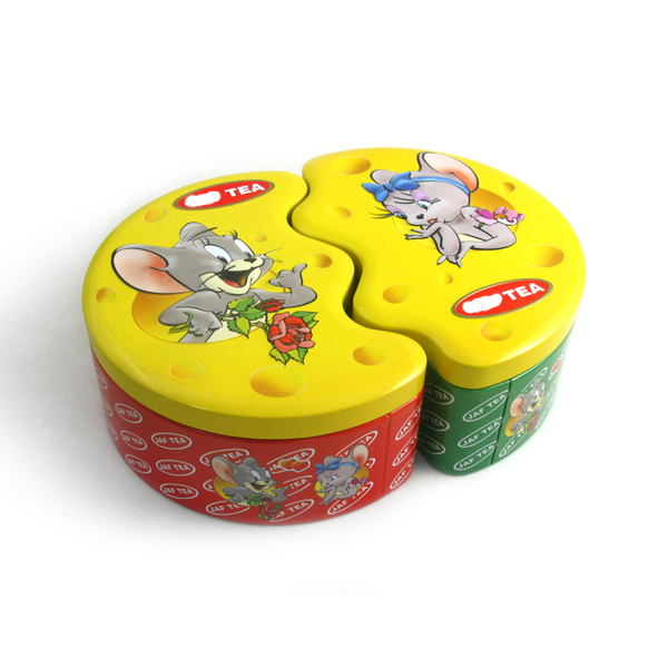 Special tin cans for food packing