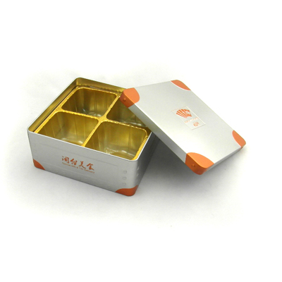 Pretzel cake packaging tin box