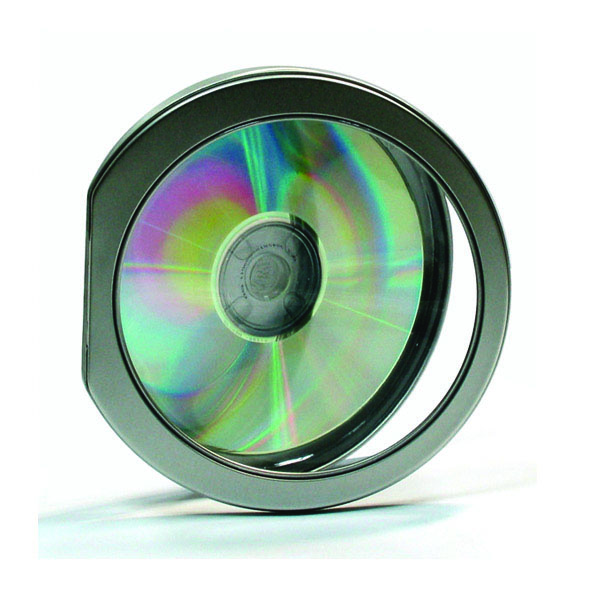Window top lid CD tin case