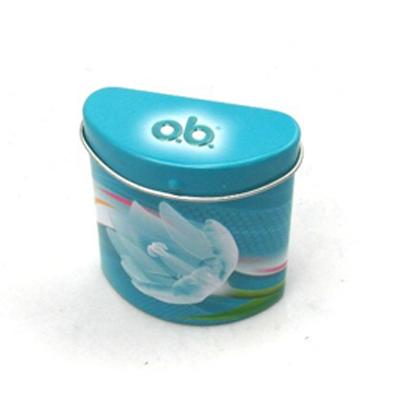 Irregular Shape Small Gum Candy Tin