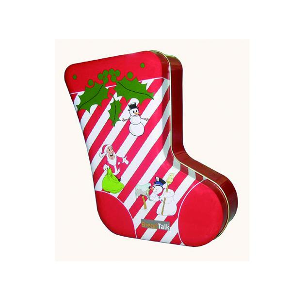 Custom Christmas Stocking Tin Cans