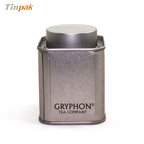 custom printed metal tea canister supplier