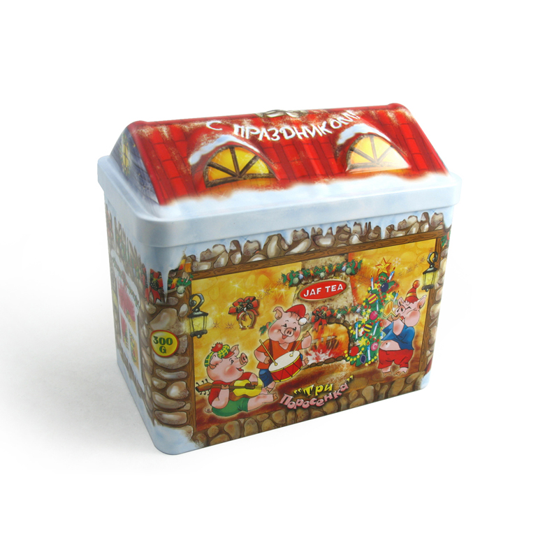 Favorable House Gift Tin Box