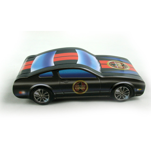 cool custom car shaped metal candy tin box