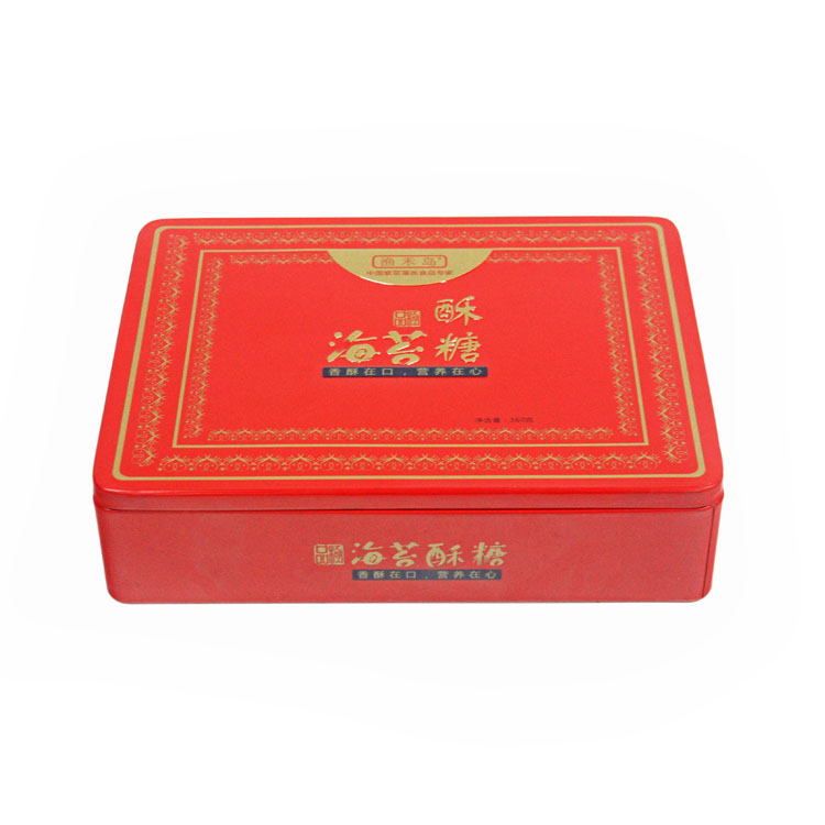 custom rectangular candy tin factory