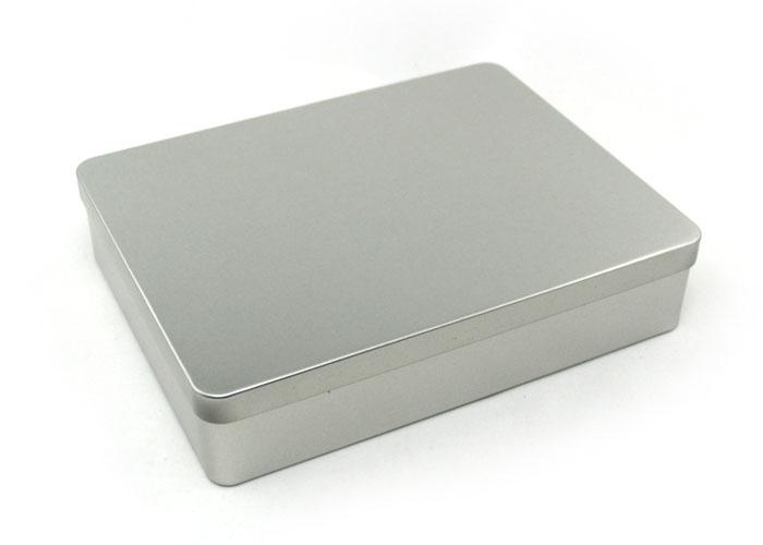 Xmas plain gift tin box