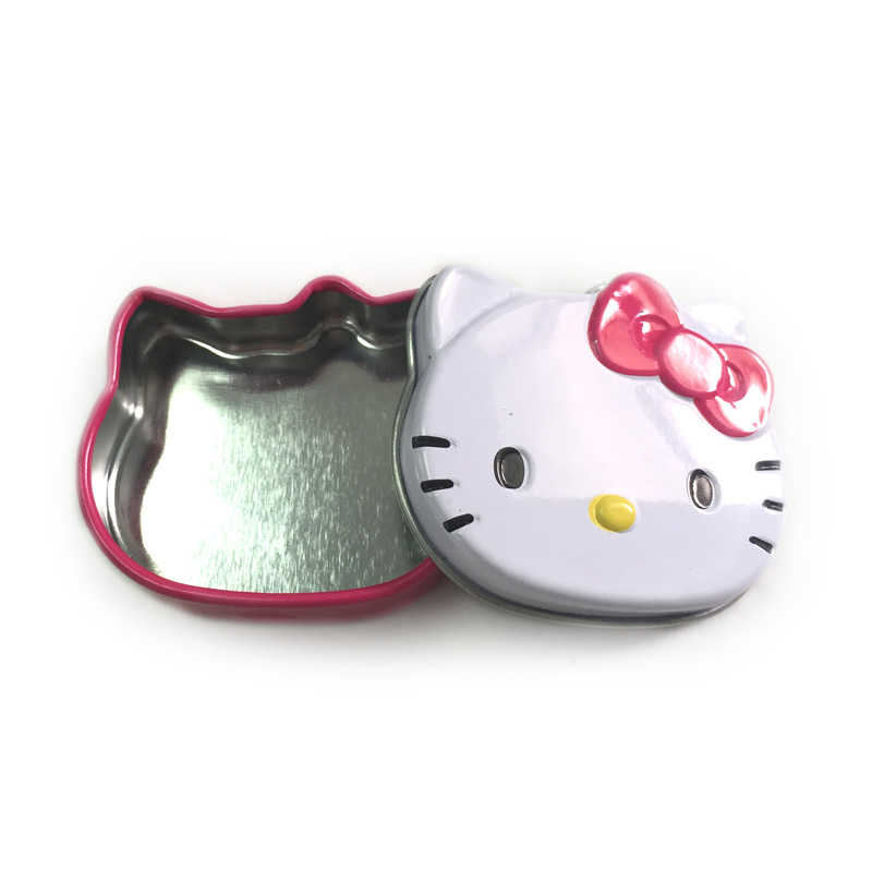 Hello Kitty Shaped Tin for gift