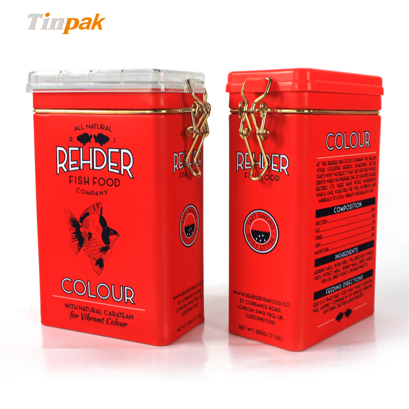 Airtight tea tins manufacturer
