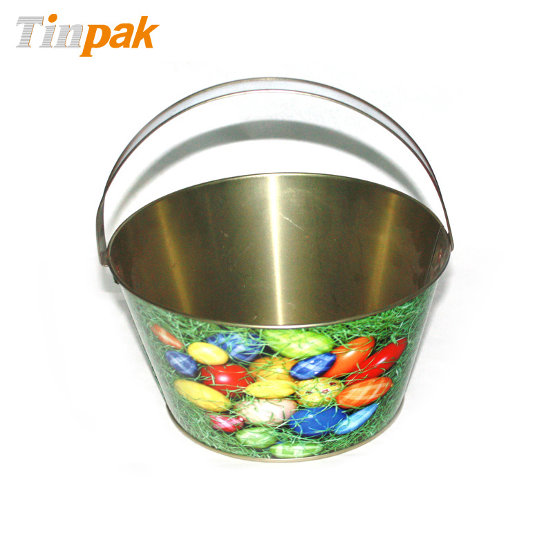 Wholesale easter tin buckets