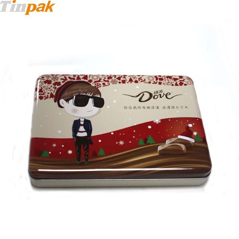 Artstyle Chocolate Tin Box for Valentine's Day