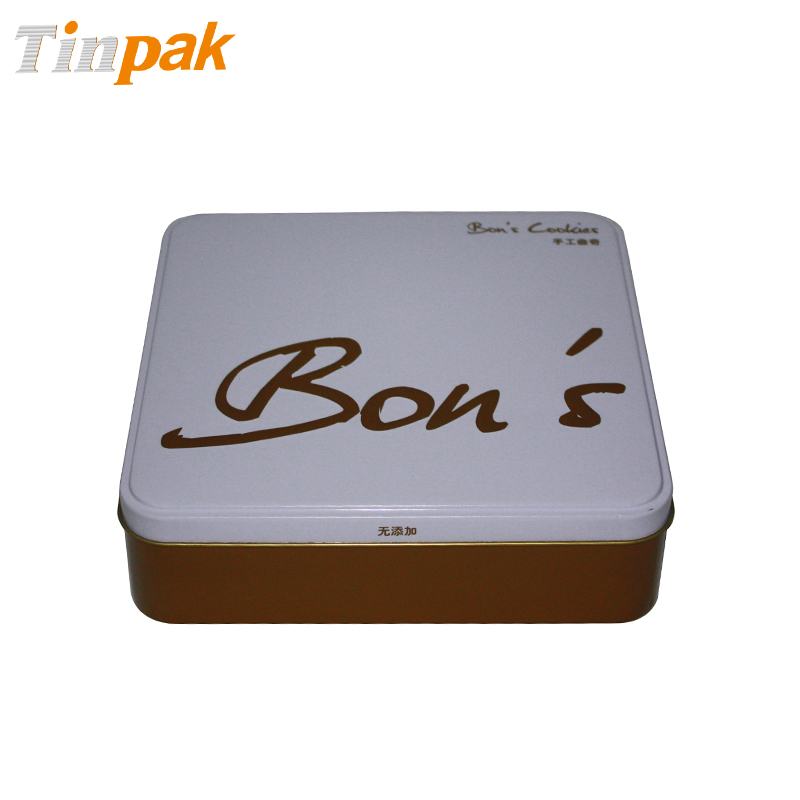 Square chocolate tin wholesale