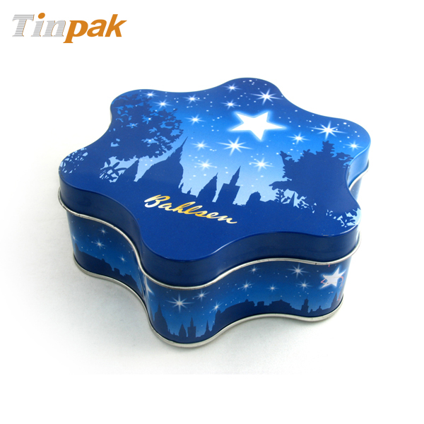 Premium Gift Big Hexagonal Tin