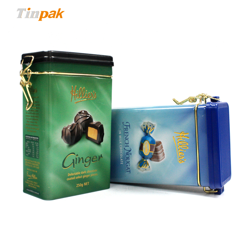 Bulk Decorative Candy Tin with Lid