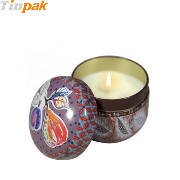 Decorated Fragonard Perfumed Candles Tins Bulk