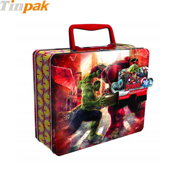 Avengers 2 Age of Ultron Puzzle Tin with Handle