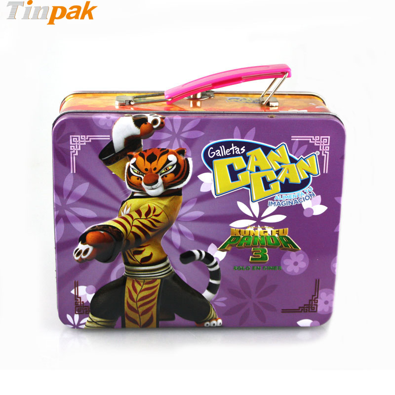 Metal Lunch Tin Part - 25: Wholesale Custom Kung Fu Panda 3 Lunch Tin Box