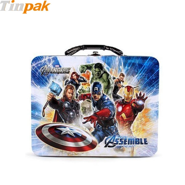 Marvel Avengers Boy's Tin Lunchbox
