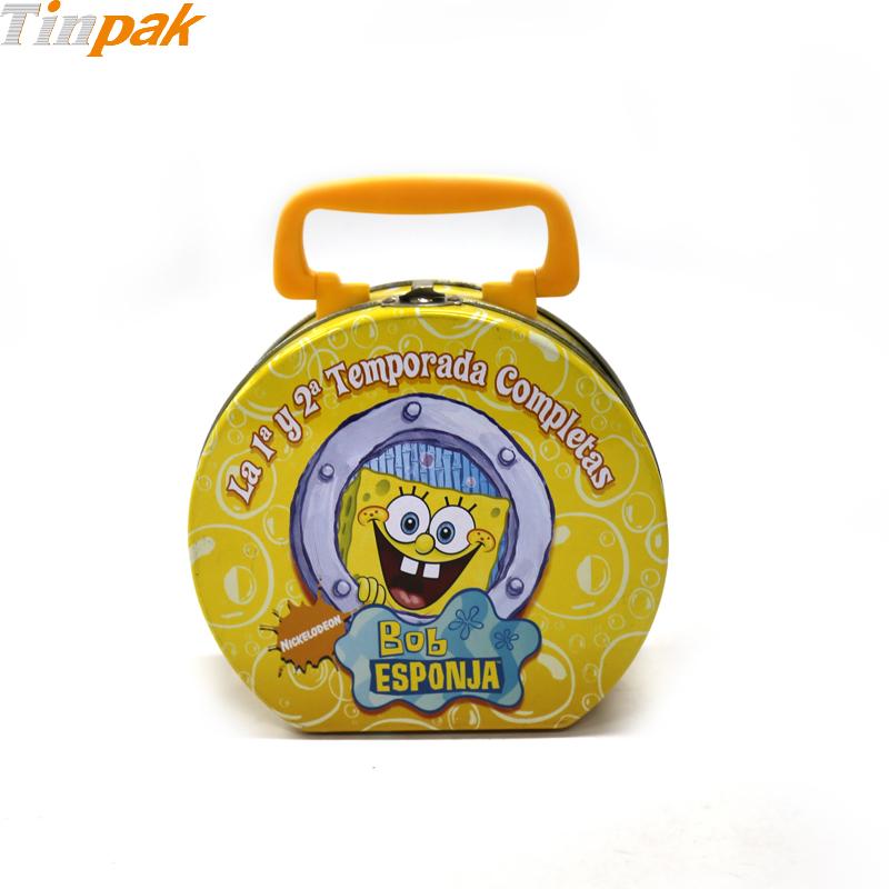Spongebob Squarepants Tin Lunch Box