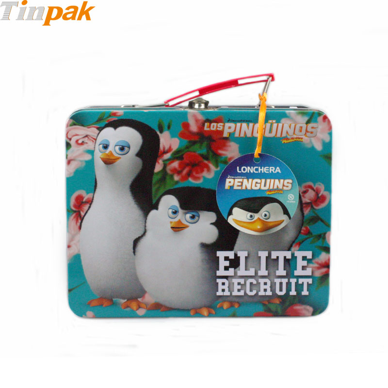 Wholesale retro lunch tin boxes for puzzle