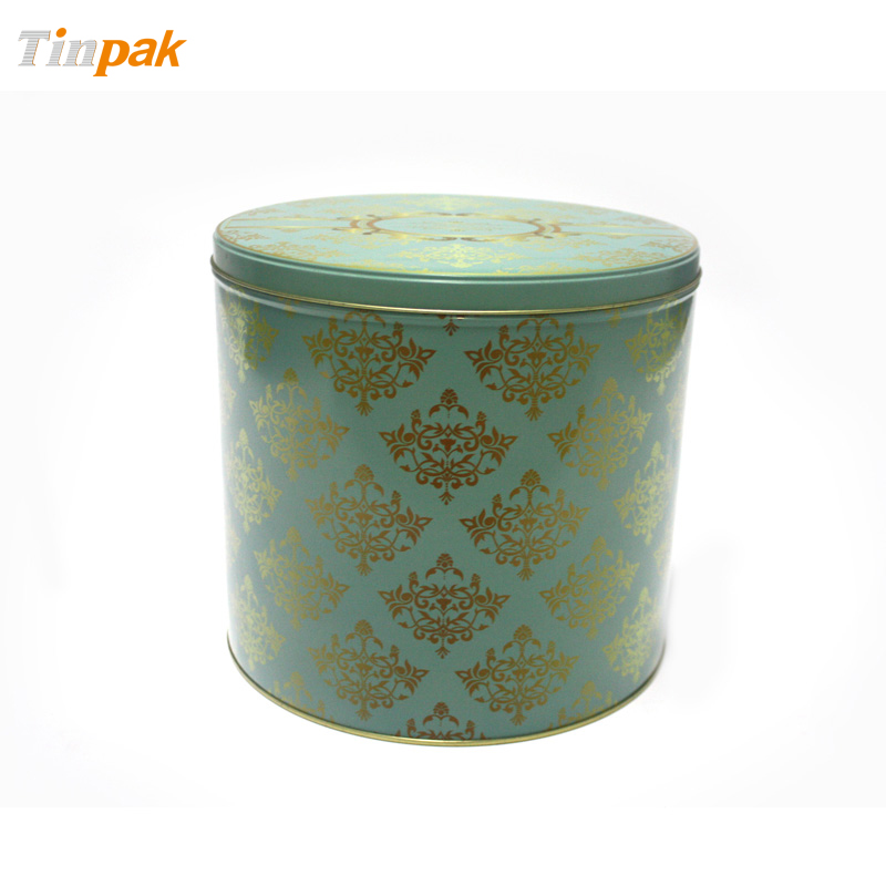 Wholesale Premium Round Tin with Step