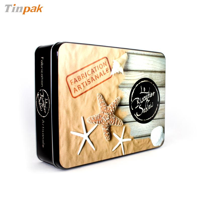 Antique Aluminium Biscuit Tin Boxes for Sale
