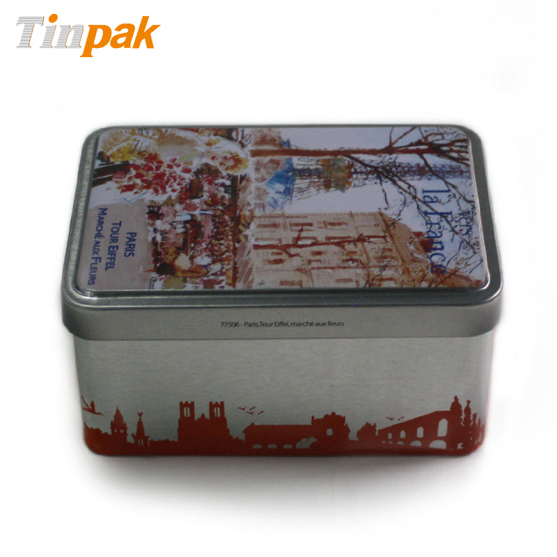 Bulk personalized cookie tin boxes for gift