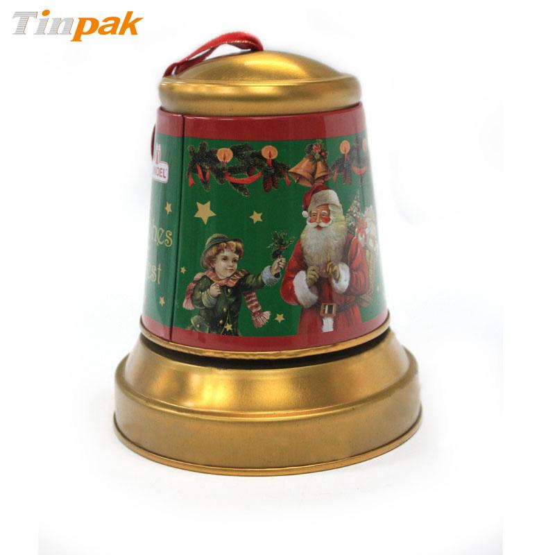 Christmas Jingle Bell Tins for Candy