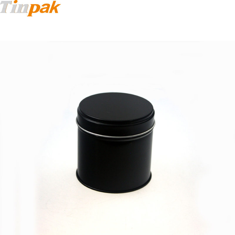 Small metal tea tins with lids wholesale