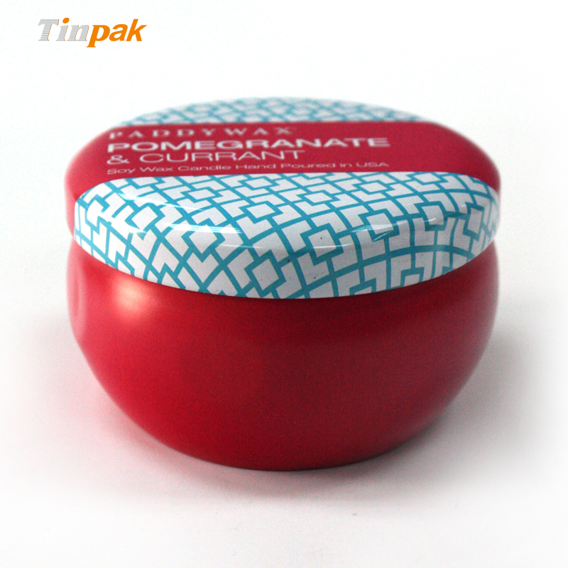Scented tin candle containers wholesale