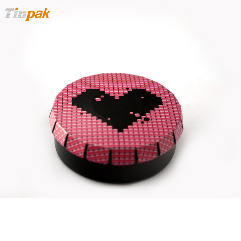 Custom Click Clack Tin Container for Mints