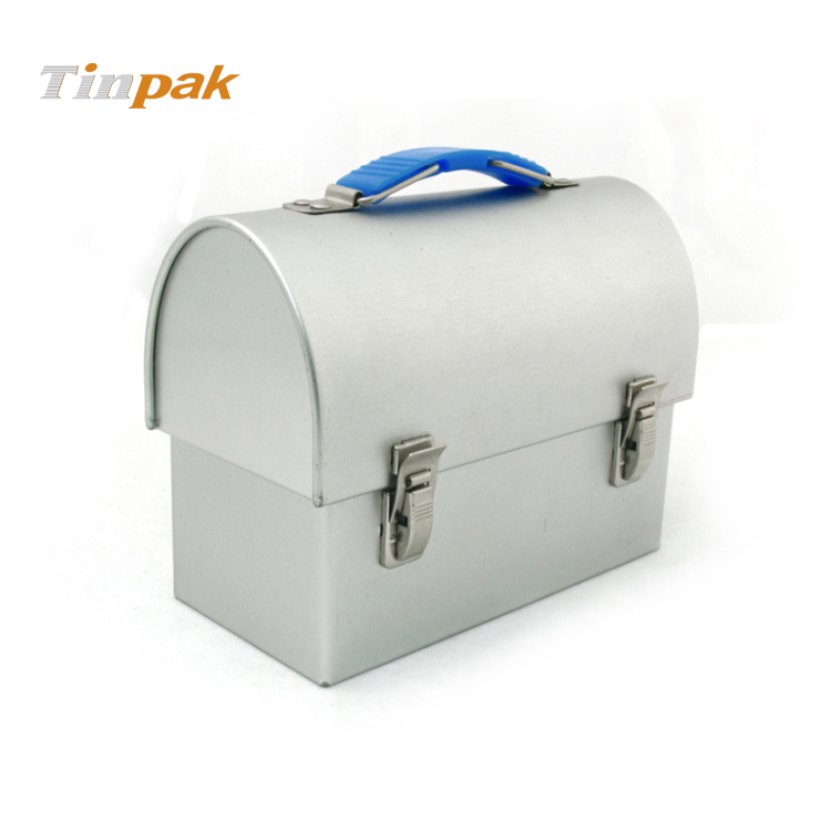 Plain Metal Dome Lunch Box