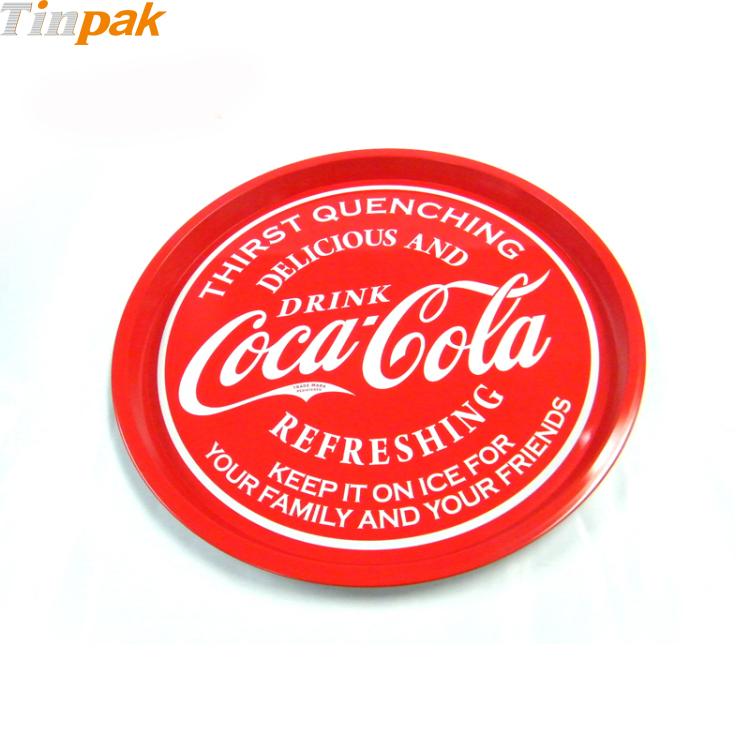 Vintage Coca-Cola Metal Serving Tray