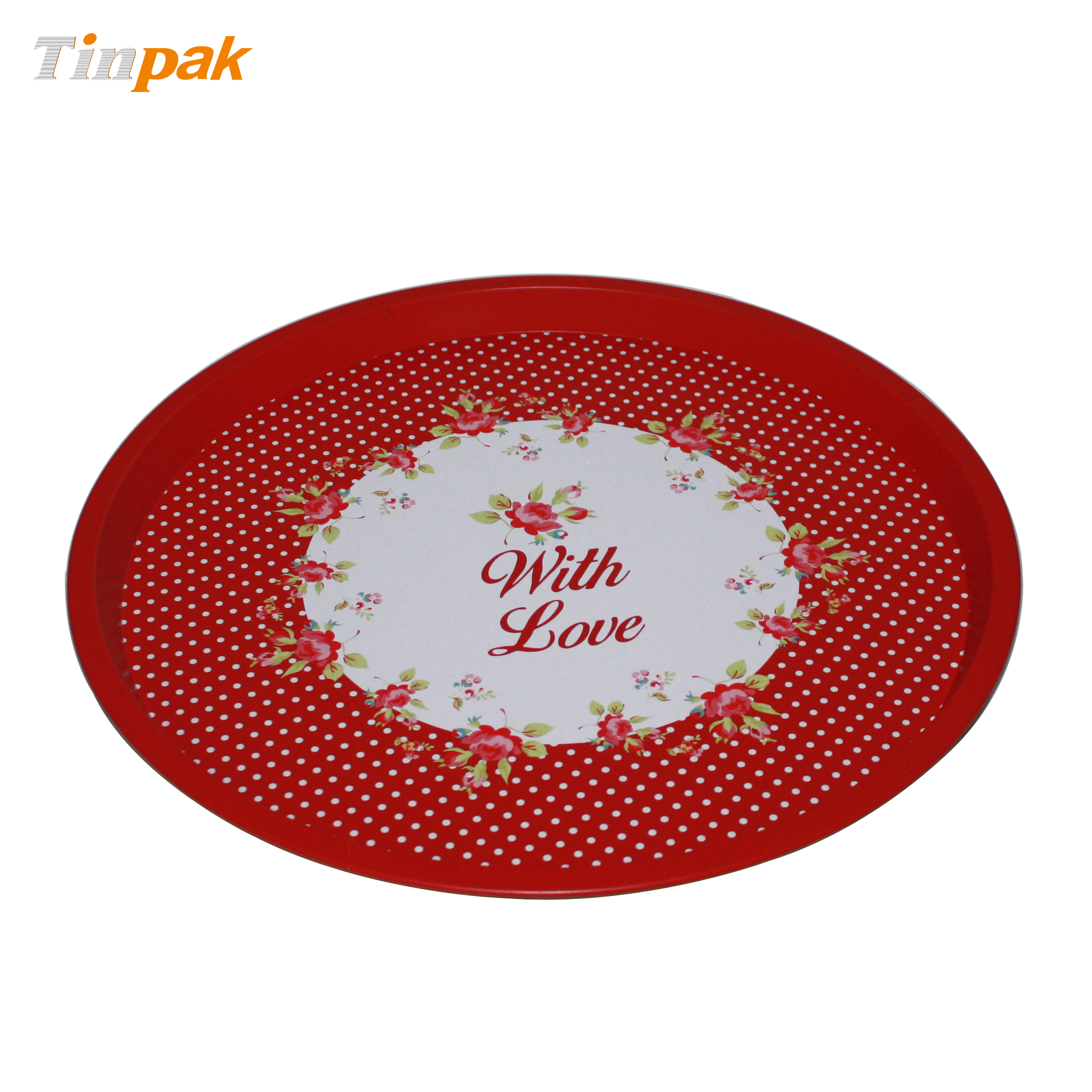Wholesale Custom House Tin Tray