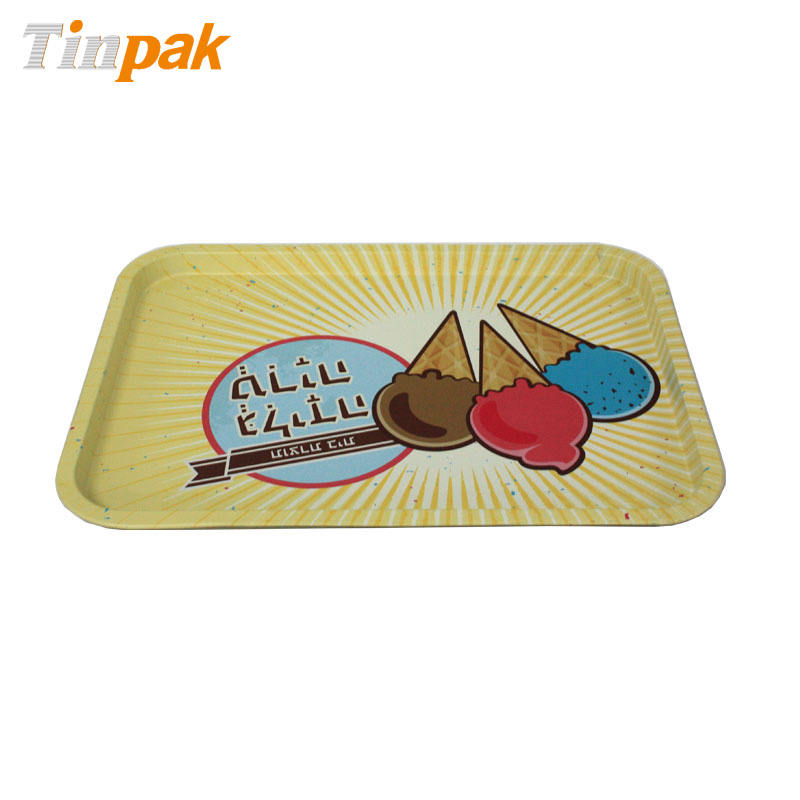 Stainless Steel Rectangle Tin Tray