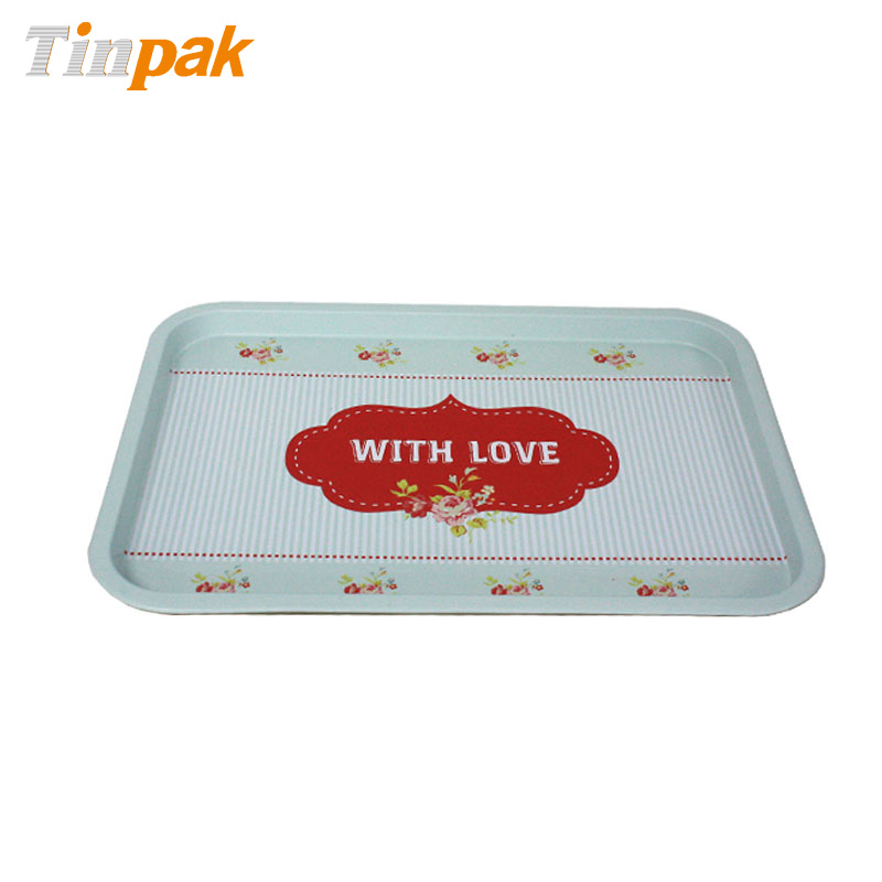 Food Grade Metal Rolling Tray for Cakes