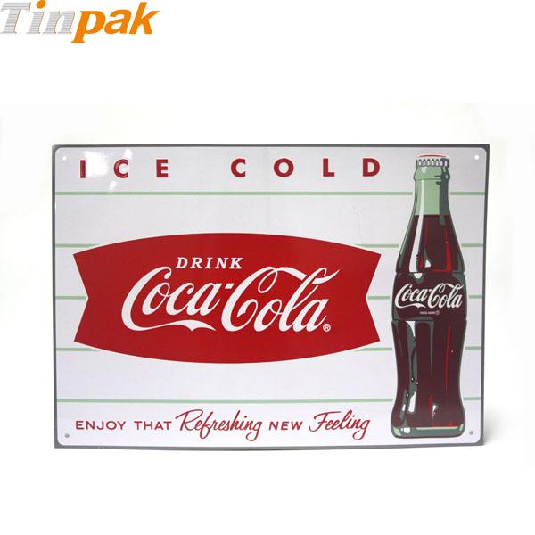 Classic Coca-Cola Metal Advertising Signs