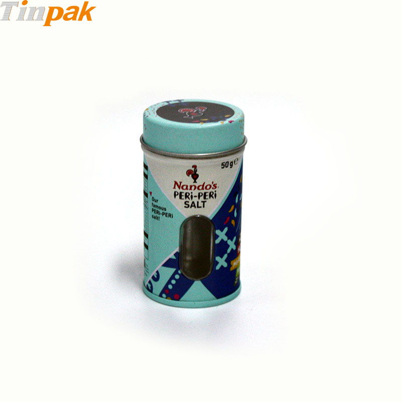 Wholesale Antique Spice Tins with Shaker Lid