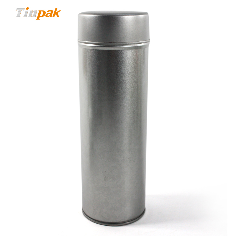 Wholesale Plain Round Tea Tin Canisters
