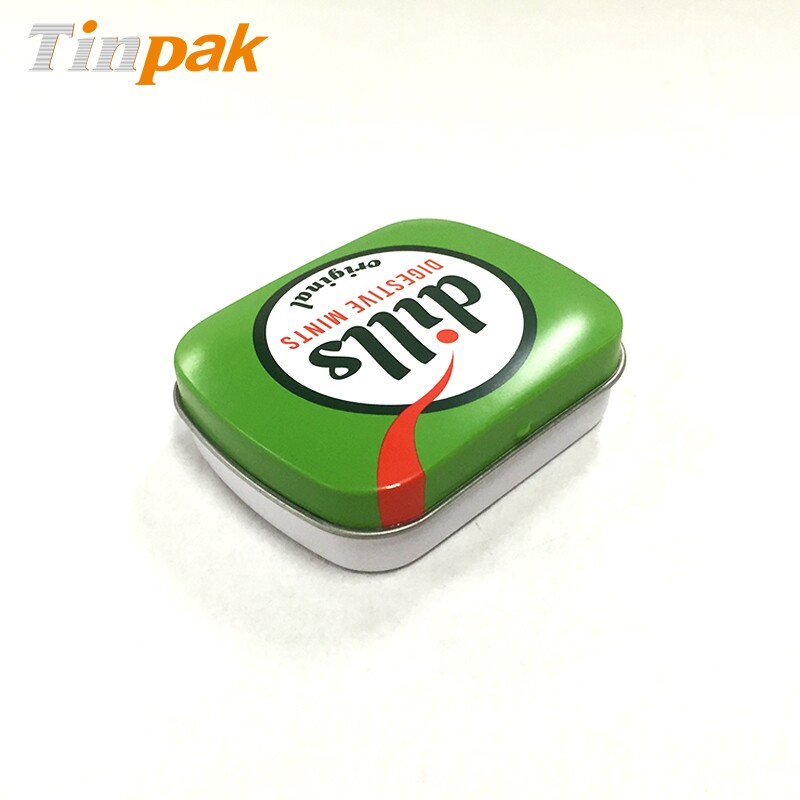 Bespoke Printed Mini Mint Tin With Hinged Lid