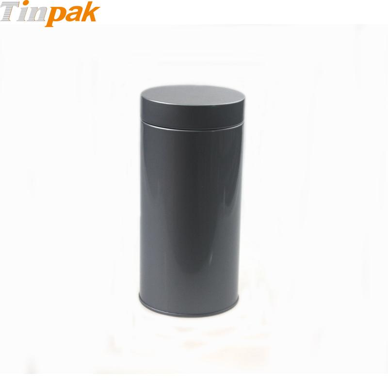Round Custom Tea Tin with Plug Lid