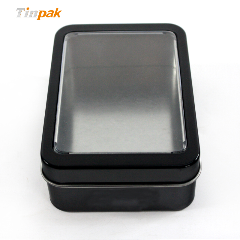 Wholesale Hand Spinner Tin Box with PVC Window