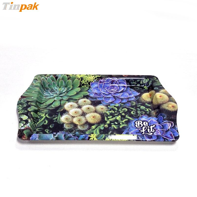 Wholesale personalized food grade tin trays for sale