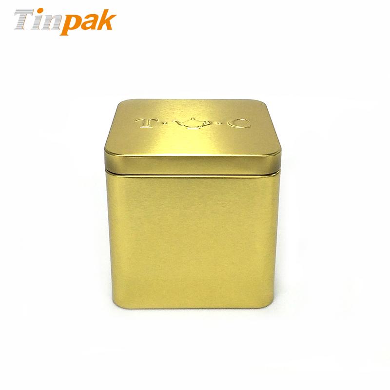 Food Grade Square Tea Tins Wholesaler