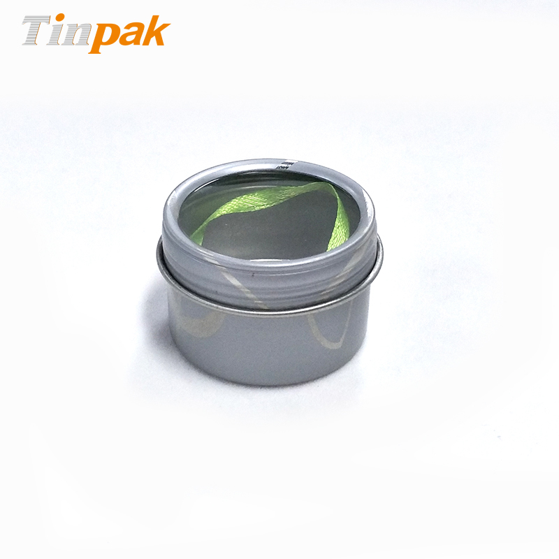 Wholesale Custom Empty Round Tea Metal Boxes