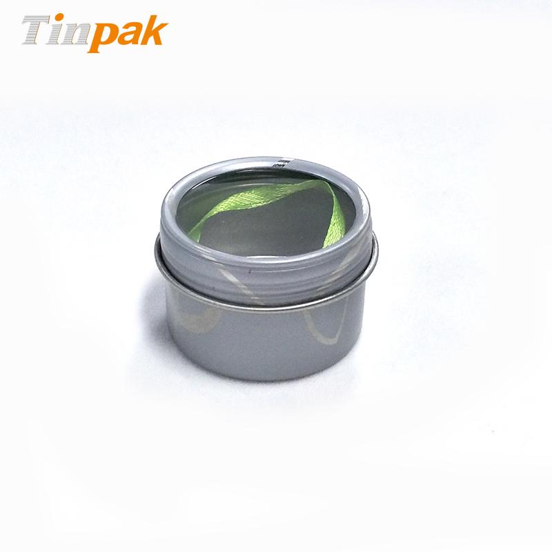 Wholesale Custom Empty Round Tea Metal Boxes